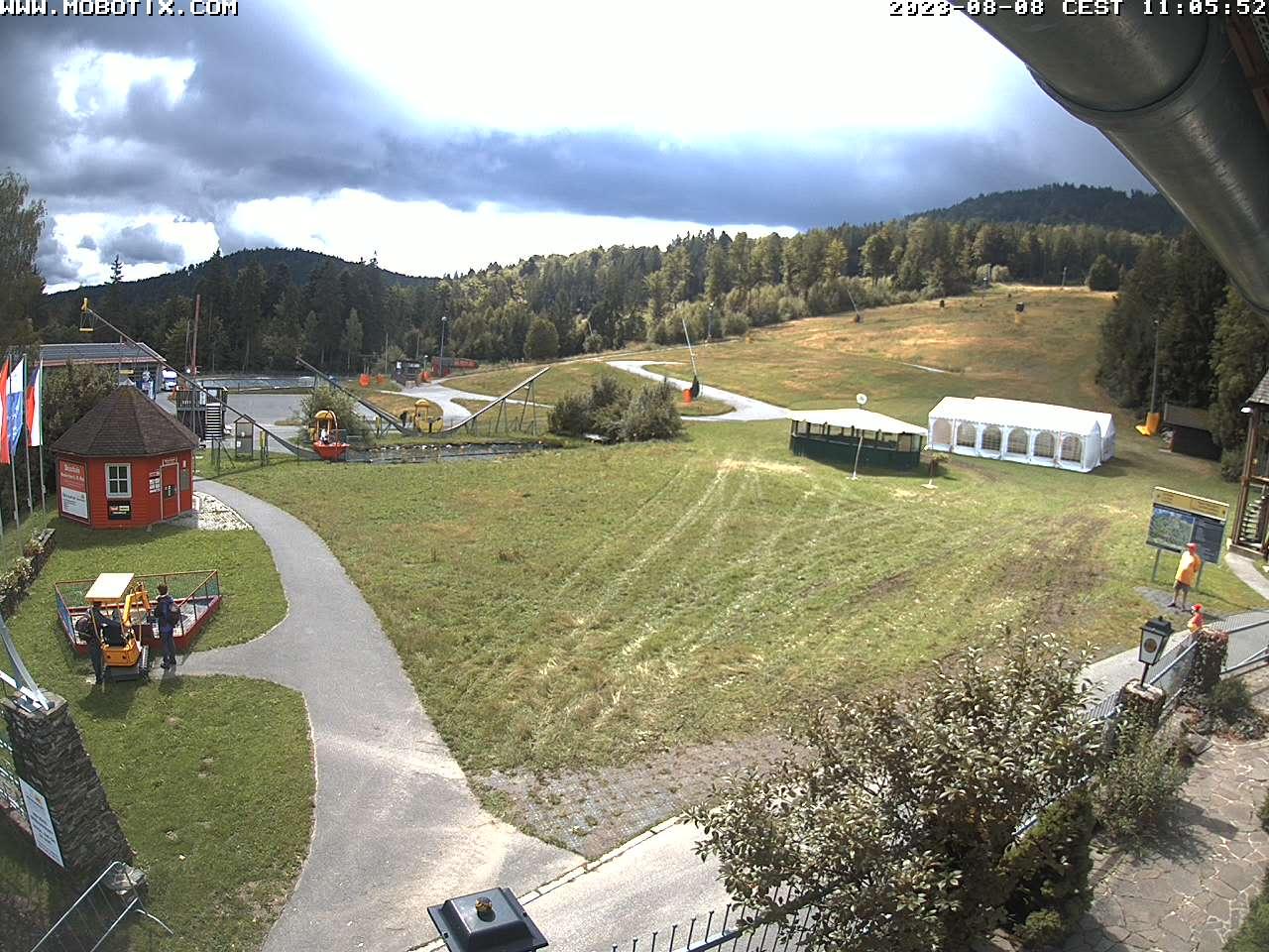 Webcam Skigebiet Neukirchen-Hohenbogen Bayerischer Wald